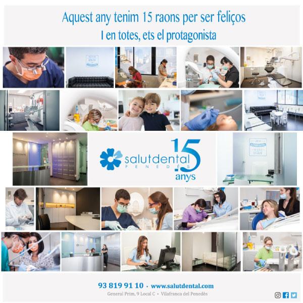 Campaña de publicidad para clínica dental 15 aniversario | Diseño de anuncio