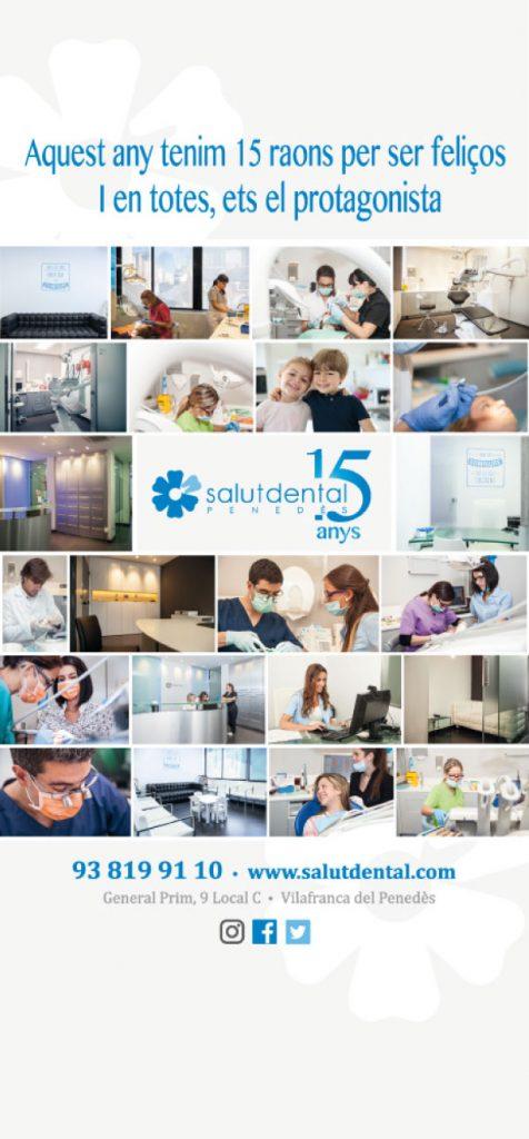 Campaña de publicidad para clínica dental 15 aniversario | Roll up
