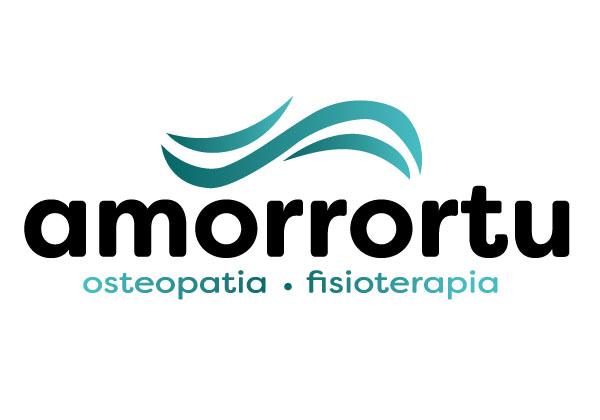 Logo Amorrortu Osteopatia | Alunarte diseño y comunicación | Vitoria-Gasteiz