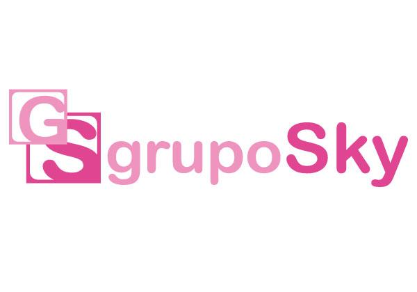 Logo Grupo Sky   Alunarte diseño y comunicación   Vitoria-Gasteiz