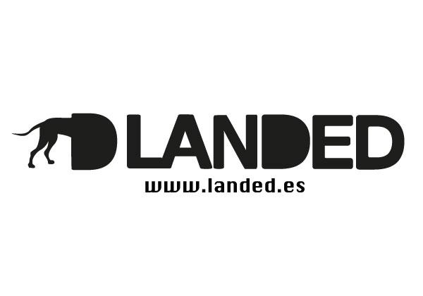 Logo Landed | Alunarte diseño y comunicación | Vitoria-Gasteiz