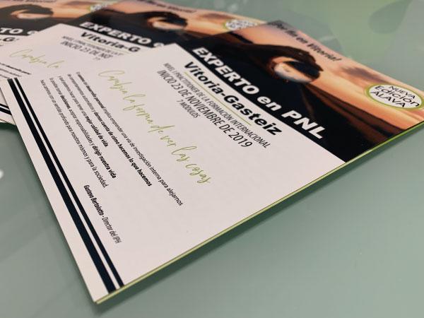 Campaña de publicidad para promoción de curso de PNL | Alunarte | Vitoria-Gasteiz