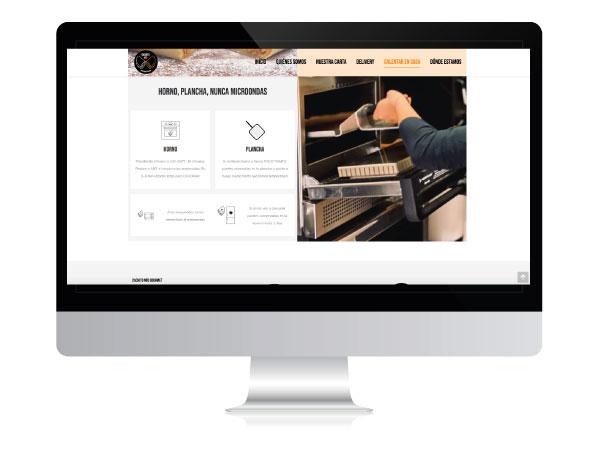 Diseño de página web para Restaurante en Vitoria-Gasteiz | ALUNARTE diseño y comunicación | Cachito Mío Gourmet