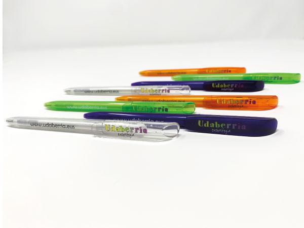 Bolígrafos personalizados Vitoria-Gasteiz | Alunarte diseño y comunicación